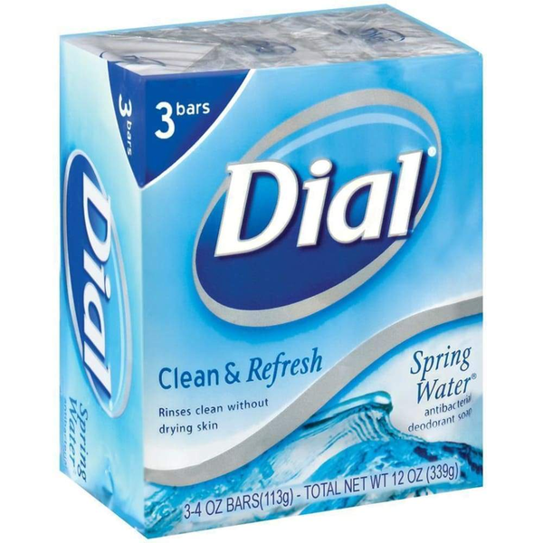 Dial Bar Springwater 3 Bars - Inmate Care Packages