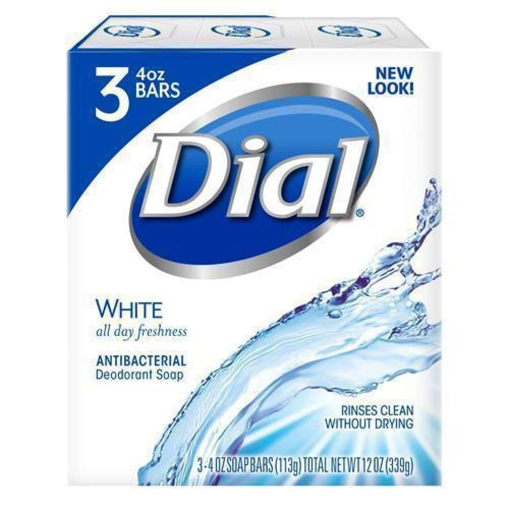 Dial Bar White 3 Bars - Inmate Care Packages