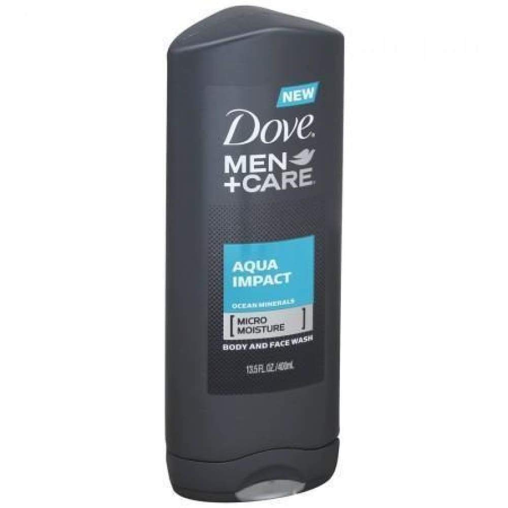 Dove Men+Care Body Wash Aqua Impact 13.5Oz. - www.inmatecarepackage.net