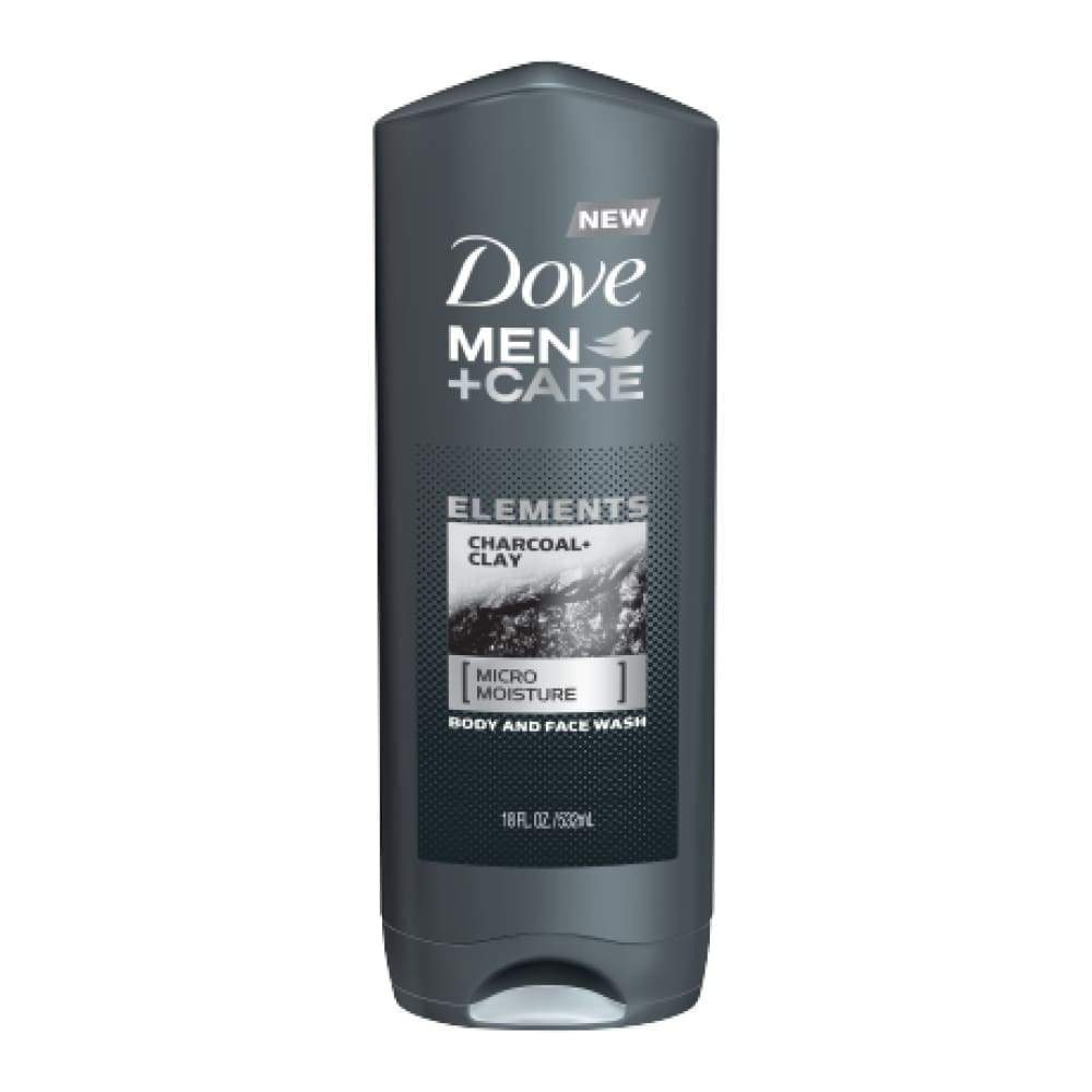 Dove Men+Care Body Wash Charcoal+Clay 13.5 Oz. - www.inmatecarepackage.net