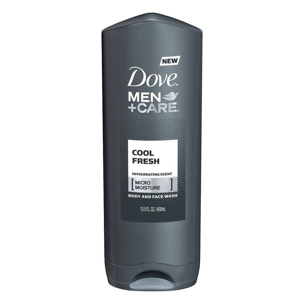 Dove Men+Care Body Wash Cool Fresh 13.5Oz. - www.inmatecarepackage.net