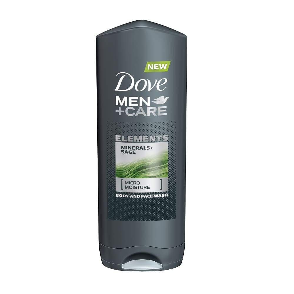 Dove Men+Care Body Wash Minerals+Sage 13.5Oz. - www.inmatecarepackage.net