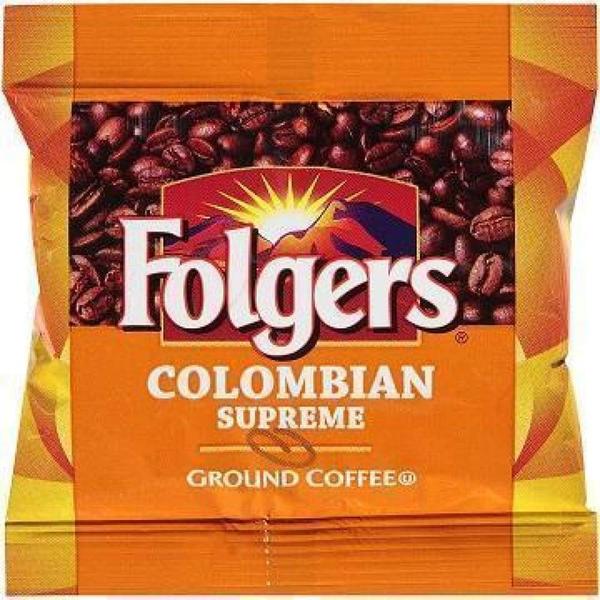Folgers 0.9 Ounce Caffeine Colombian Supreme - Inmate Care Packages