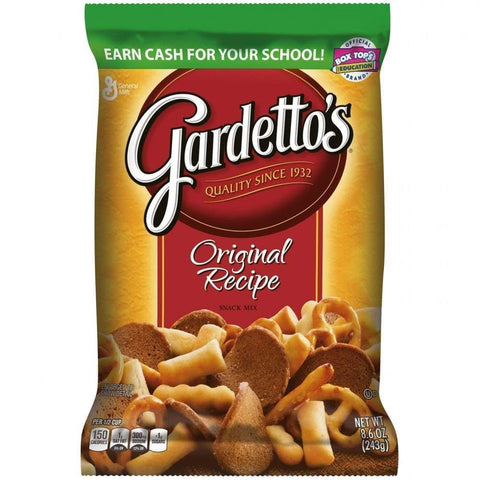 Gardetto's Snack Mix Original Recipe 8.6 Oz. - www.inmatecarepackage.net