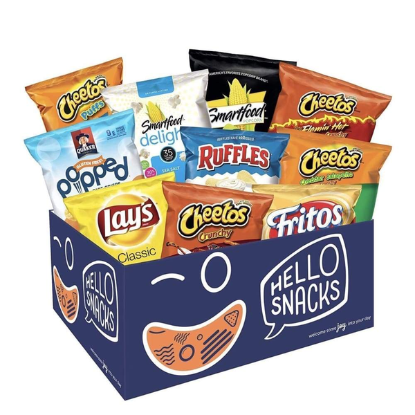 Gluten Free Snack Pack - Inmate Care Packages