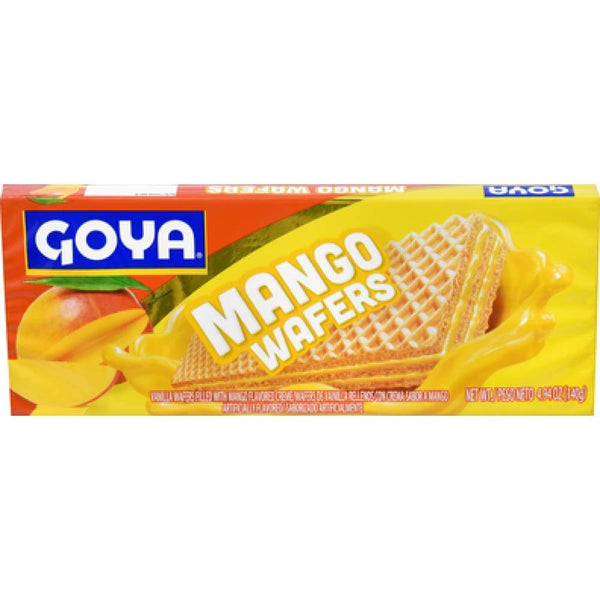 Goya Mango Wafers 4.9 Oz - www.inmatecarepackage.net