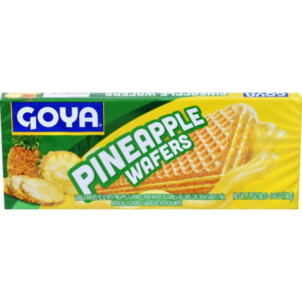 Goya Pineapple Wafers 4.9 Oz - www.inmatecarepackage.net