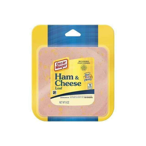 Ham & Cheese Loaf Sliced 8Oz - www.inmatecarepackage.net