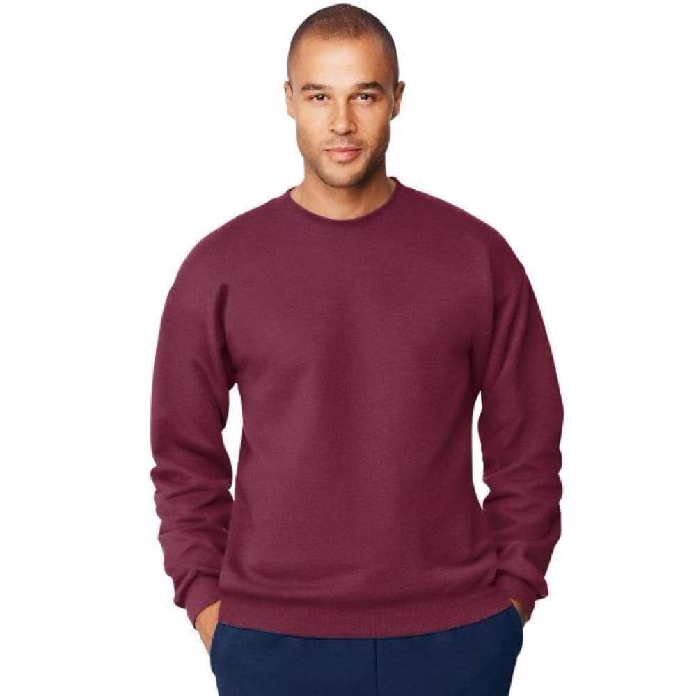 Hanes Men's Ultimate Cotton® Heavyweight Crewneck Sweatshirt - www.inmatecarepackage.net