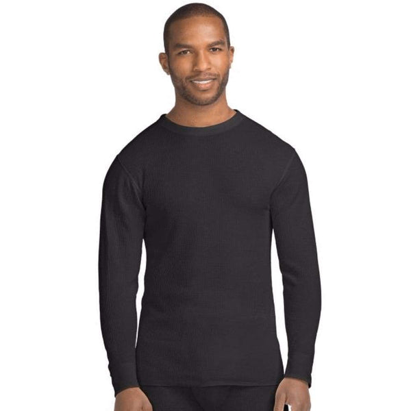Hanes X-Temp™ Men's Organic Cotton Thermal Crew - Inmate Care Packages