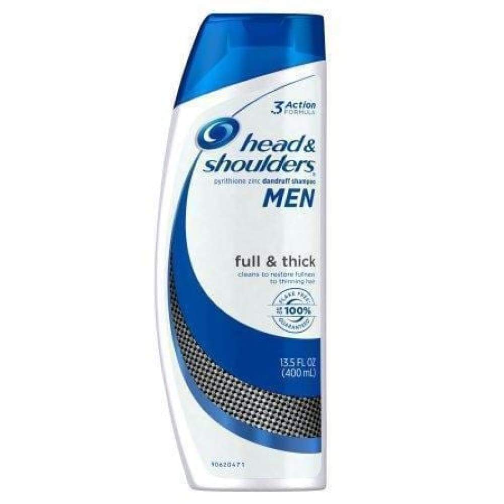 Head & Shoulders Men Anti Dandruff Shampoo 13.5Oz. - www.inmatecarepackage.net