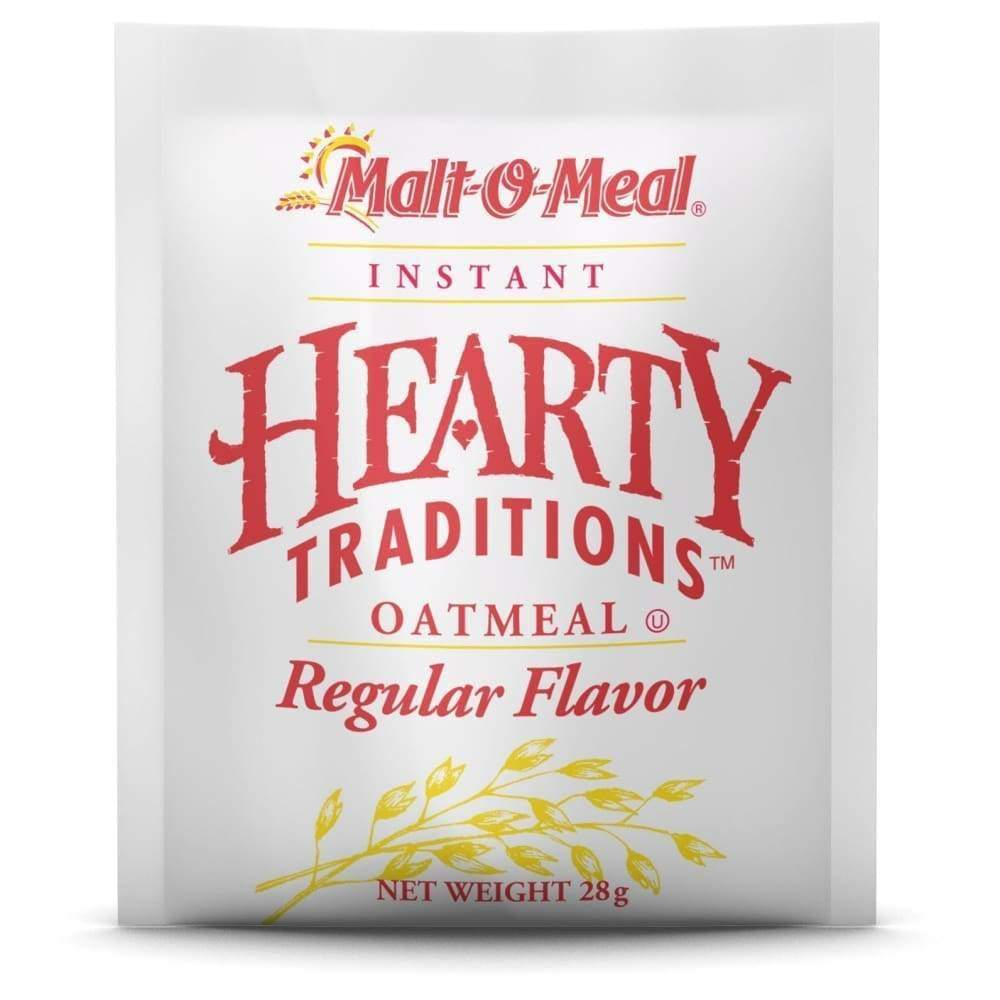 Hearty Traditions Instant Oatmeal - Regular 1 Oz. - www.inmatecarepackage.net