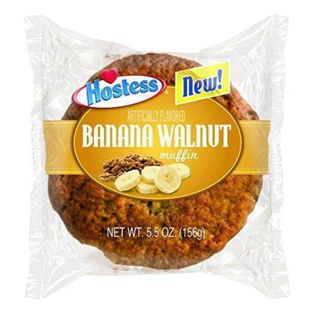 Hostess Banana Jumbo Muffin Single-Serve - www.inmatecarepackage.net