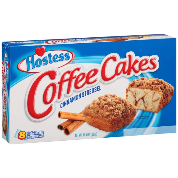 Hostess Coffee Cake Multi-Pack - www.inmatecarepackage.net