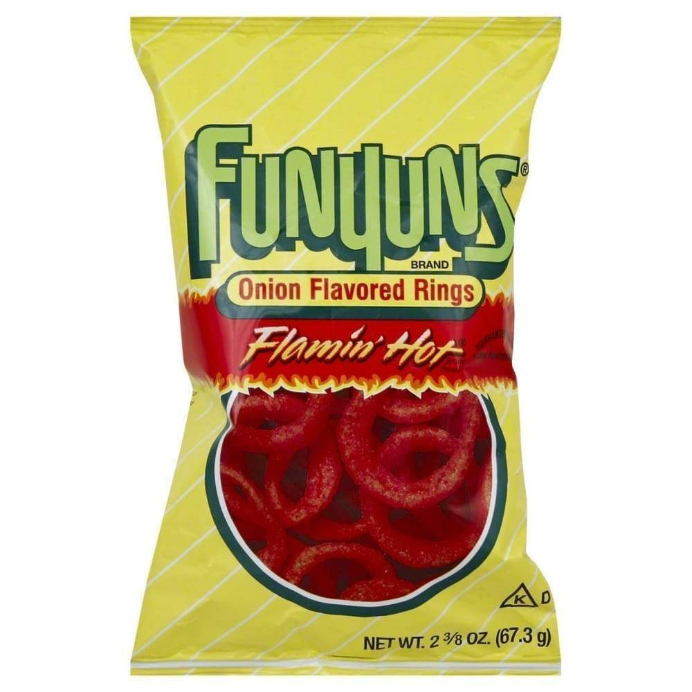 Hot Funyuns, 2.37Oz - www.inmatecarepackage.net