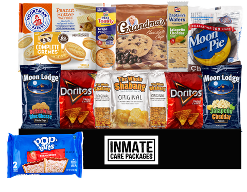 Pastry & Chips Pack - Inmate Care Packages