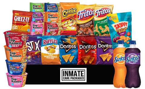 Start Snacking - Inmate Care Packages