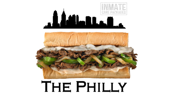 Philly Cheesesteak - www.inmatecarepackage.net