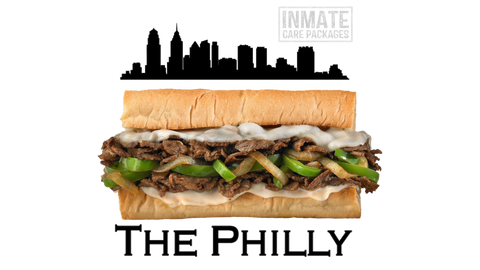 Philly Cheesesteak - Inmate Care Packages