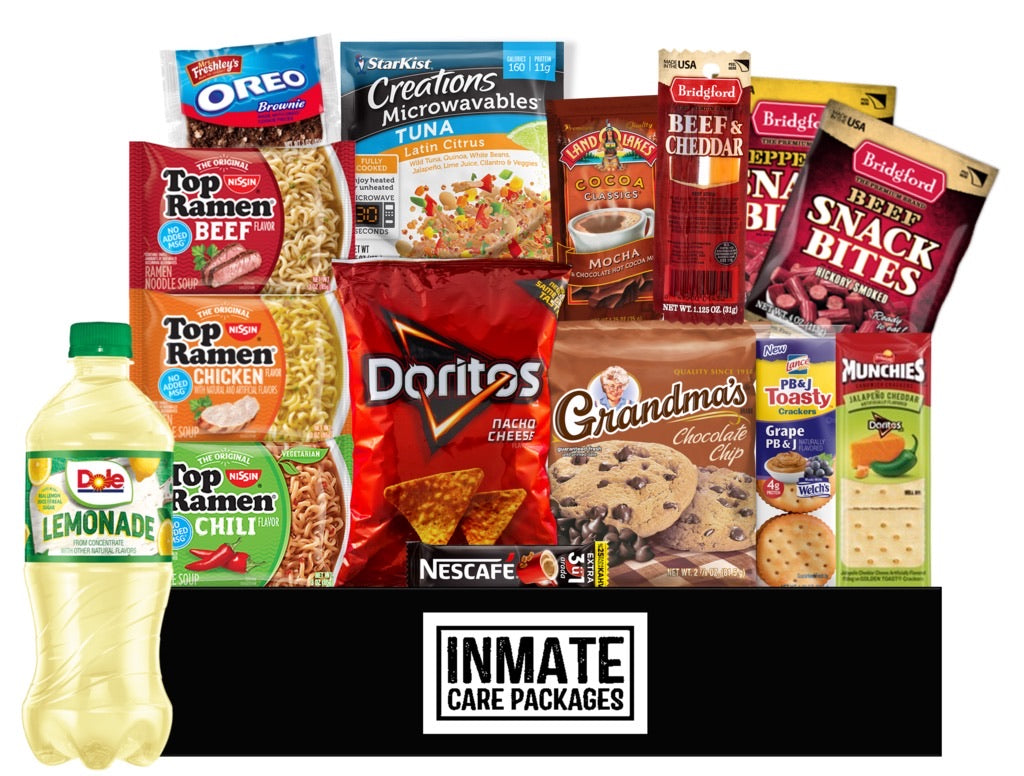 Snack Attack - www.inmatecarepackage.net