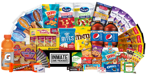 Snack Crate Care Package - Inmate Care Packages