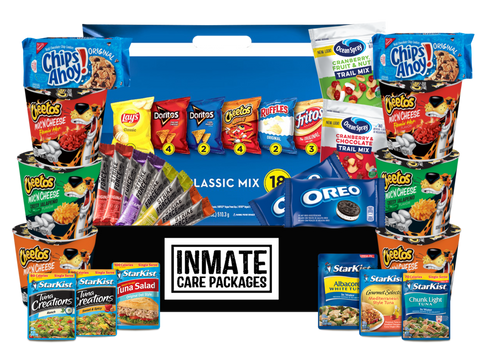 Chips & Stuff Inmate Value Care Package - www.inmatecarepackage.net