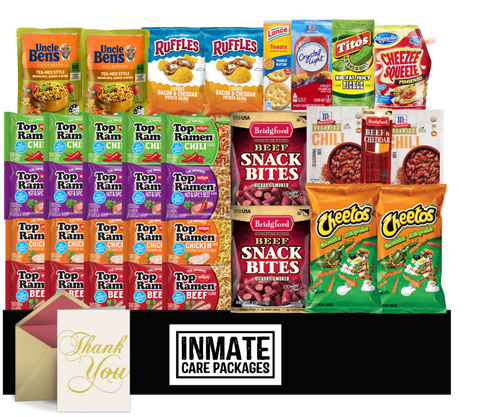 Meal Deal - Inmate Care Packages