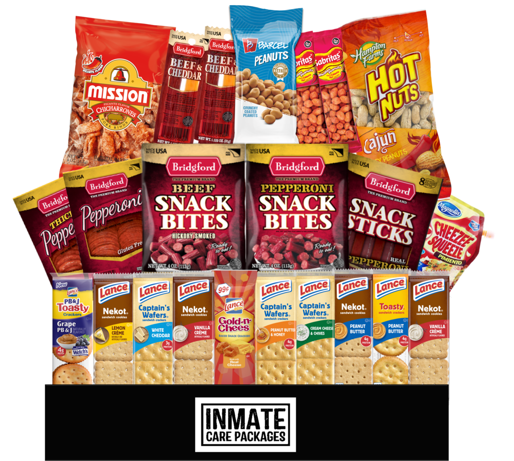 Meat & Cracker Pack - Inmate Care Packages