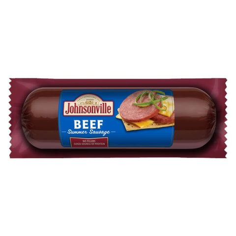 Johnsonville Beef Summer Sausage 12Oz - www.inmatecarepackage.net