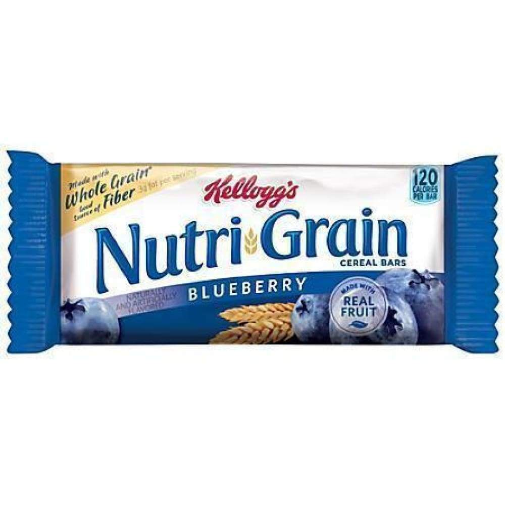 Kellogg's Nutri-Grain Cereal Bars Blueberry - Inmate Care Packages