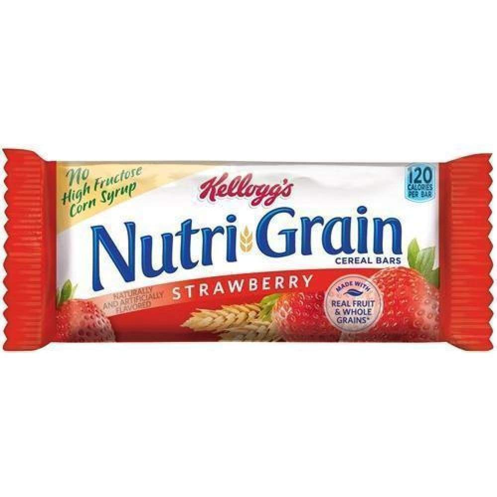 Kellogg's Nutri-Grain Cereal Bars Strawberry - www.inmatecarepackage.net