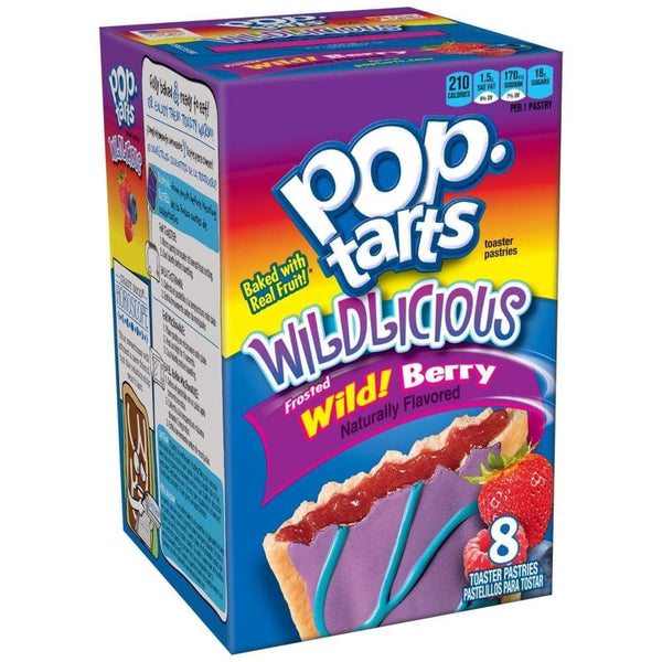Kellogg's Pop-Tarts Wild Berry 15.2Oz - Inmate Care Packages