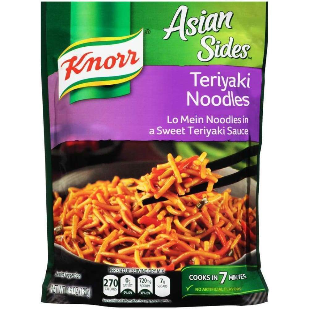 Knorr Side Meal Asian Teriyaki - www.inmatecarepackage.net