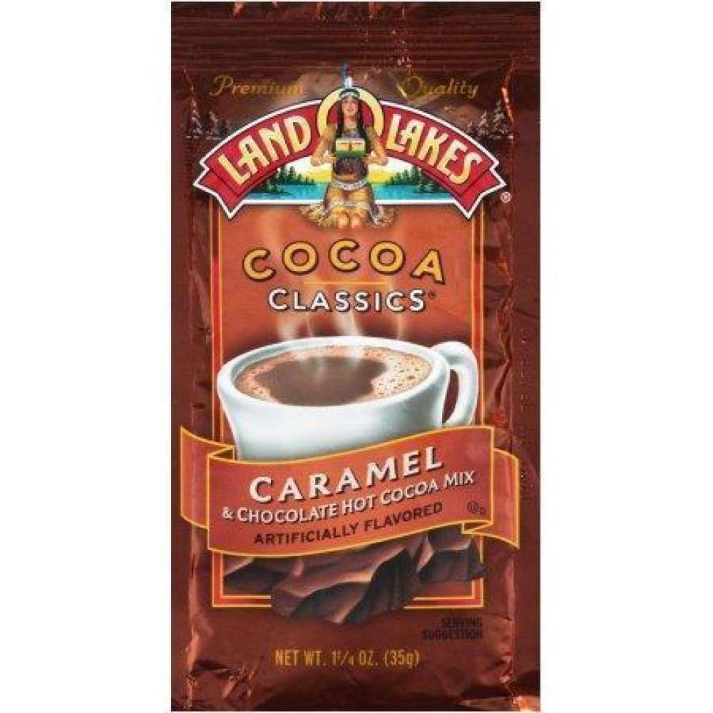 Land O Lakes, Hot Cocoa Mix Chocolate & Caramel 1.25Oz. - www.inmatecarepackage.net