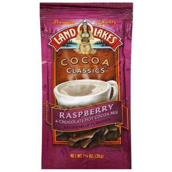 Land O Lakes, Hot Cocoa Mix Chocolate & Raspberry - www.inmatecarepackage.net