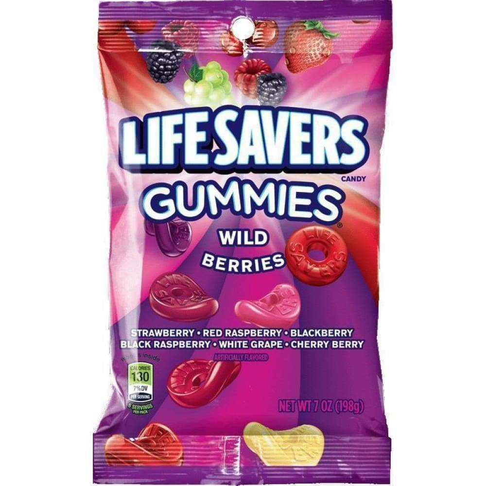 Life Savers Gummies Wild Berry, 7 Oz. - Inmate Care Packages