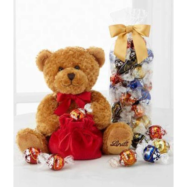 Lindt Bear with Truffles - www.inmatecarepackage.net