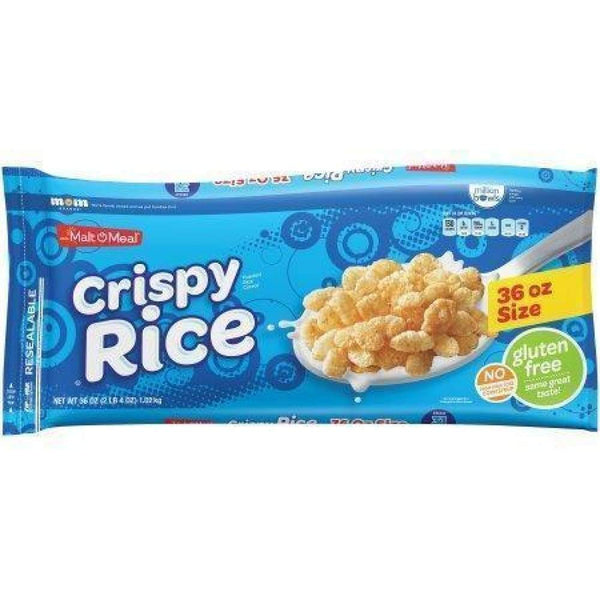 Malt-O-Meal Crispy Rice 12 Oz. - www.inmatecarepackage.net