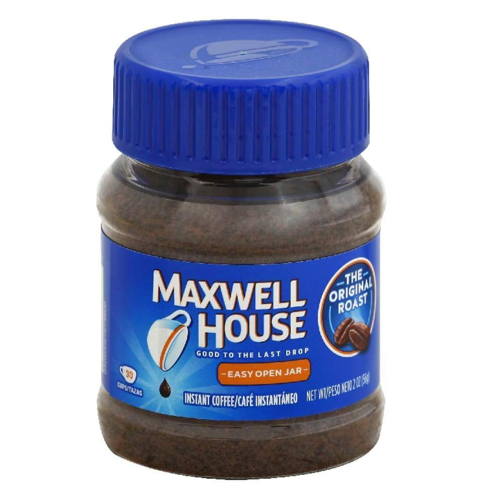 Maxwell House Coffee-Instant Original 2Oz. - www.inmatecarepackage.net