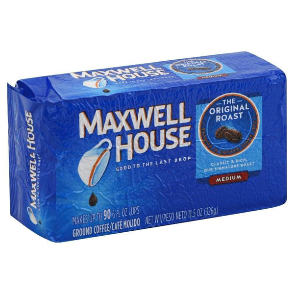 Maxwell House Ground Coffee Original - Vacuum Sealed - Inmate Care Packages