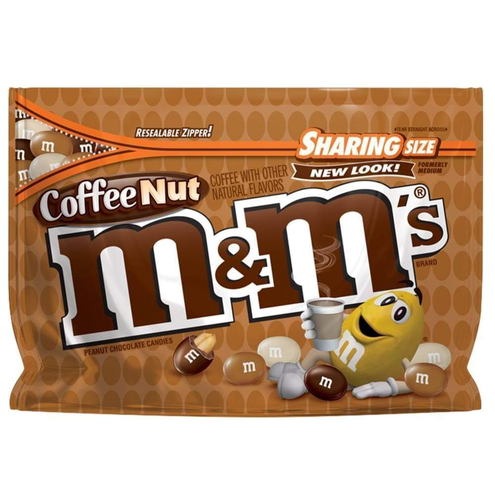 M&m Coffee Nut Supreme, 9.6 Oz. Bag - Inmate Care Packages
