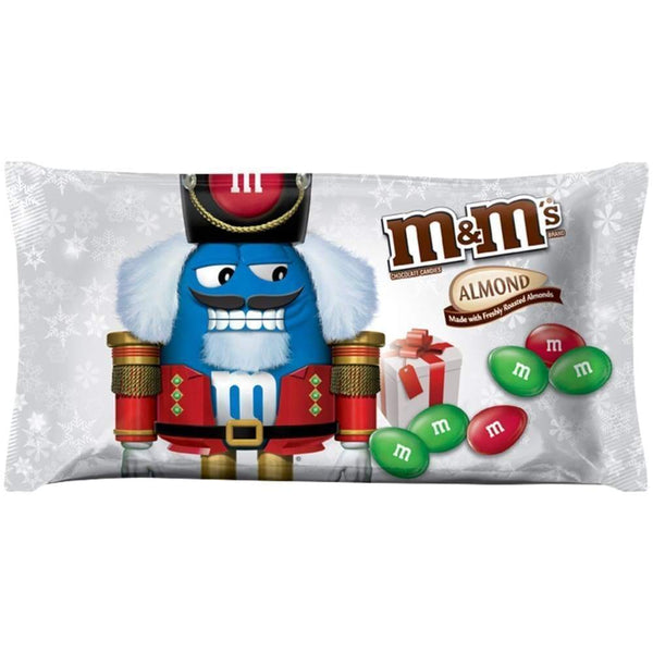 M&ms Almond Christmas, 9.9 Oz. Bag - www.inmatecarepackage.net