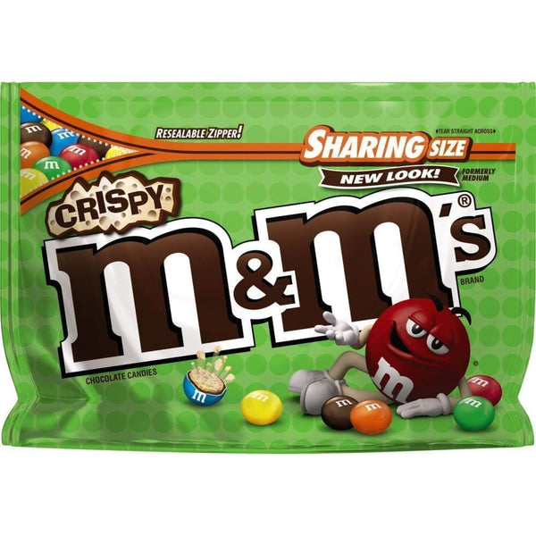 M&ms Crispy, 8 Oz. Bag - www.inmatecarepackage.net