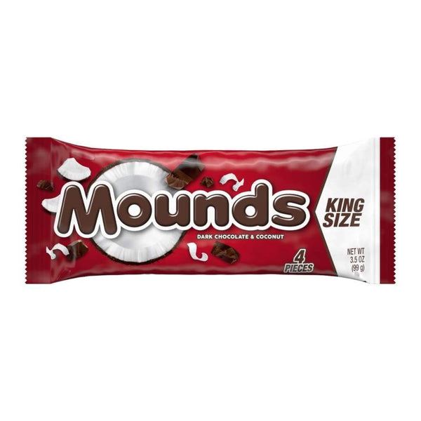 Mounds King Size Candy Bar - www.inmatecarepackage.net