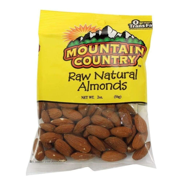 Mountain Country Almond Raw 2 Oz - Inmate Care Packages