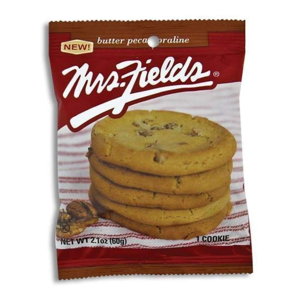Mrs. Fields Butter Pecan Cookie, 2.1 Oz. - Inmate Care Packages