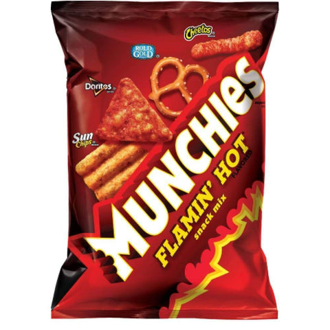 Munchies Flamin' Hot Snack Mix - www.inmatecarepackage.net