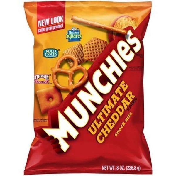 Munchies Ultimate Cheddar Mix, 8Oz - Inmate Care Packages