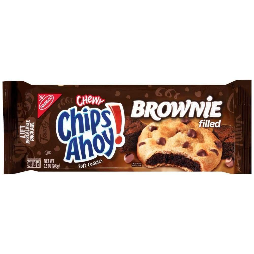 Nabisco Chips Ahoy Cookies Brownie Filled, 9.5 Oz. - Inmate Care Packages