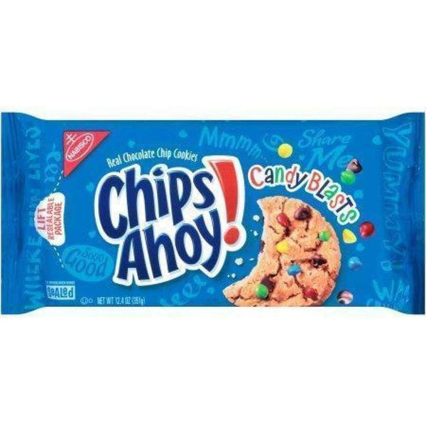 Nabisco Chips Ahoy Cookies Candy, 12.4 Oz. - www.inmatecarepackage.net